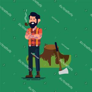 Vector People Smoking Pipes: Abstract Drunk People Smoking Pipe Cannabis