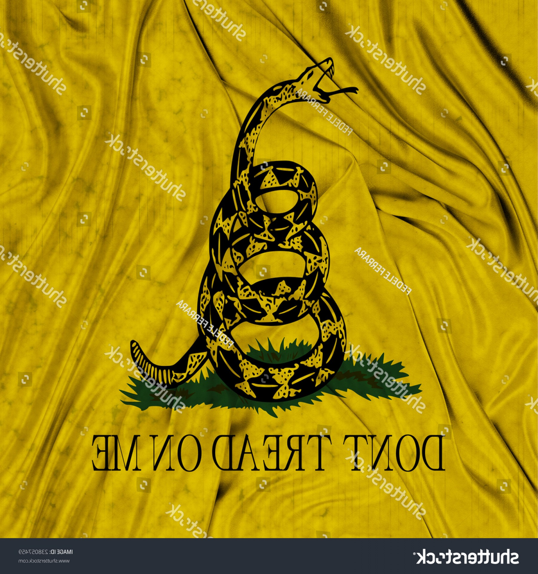 Gadsden Flag Vector Art: Gadsden Flag Dont Tread On Me