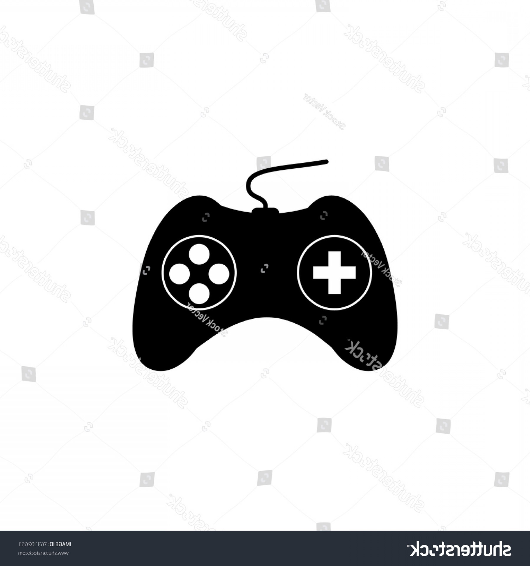 Xbox Game Controller Vector: Game Controller Icon Human Weakness Addiction