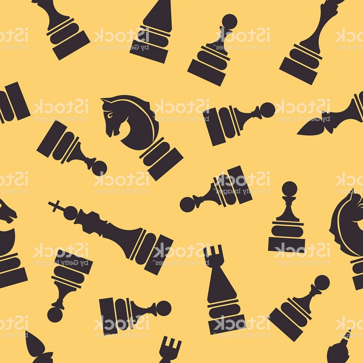Chess Vector Background: Game Of Chess Seamless Pattern For Your Design Vector Background Gm