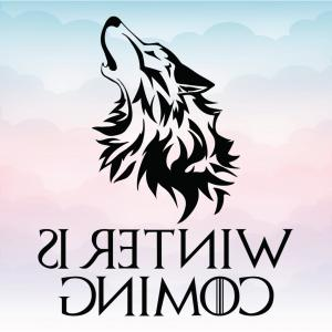 UPS Logo Vector: Game Of Thrones Winter Is Coming Wolf