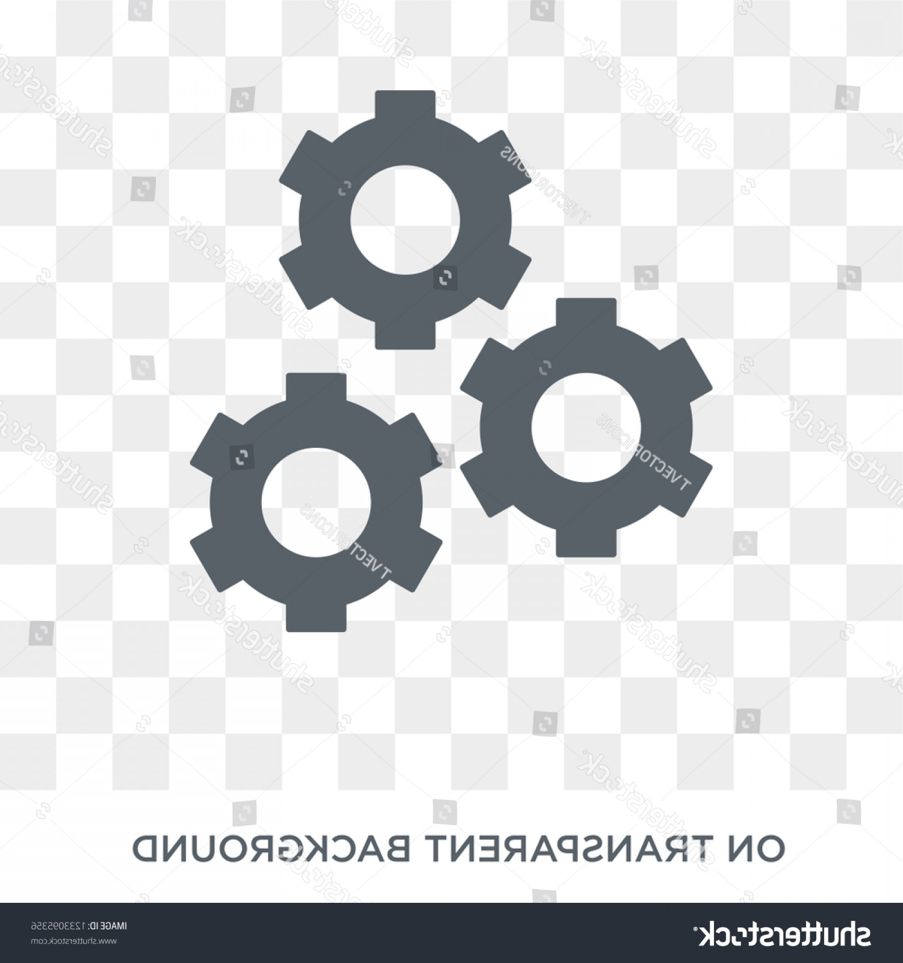 Gear Vector Icons Large: Gear Icon Design Concept Collection Simple