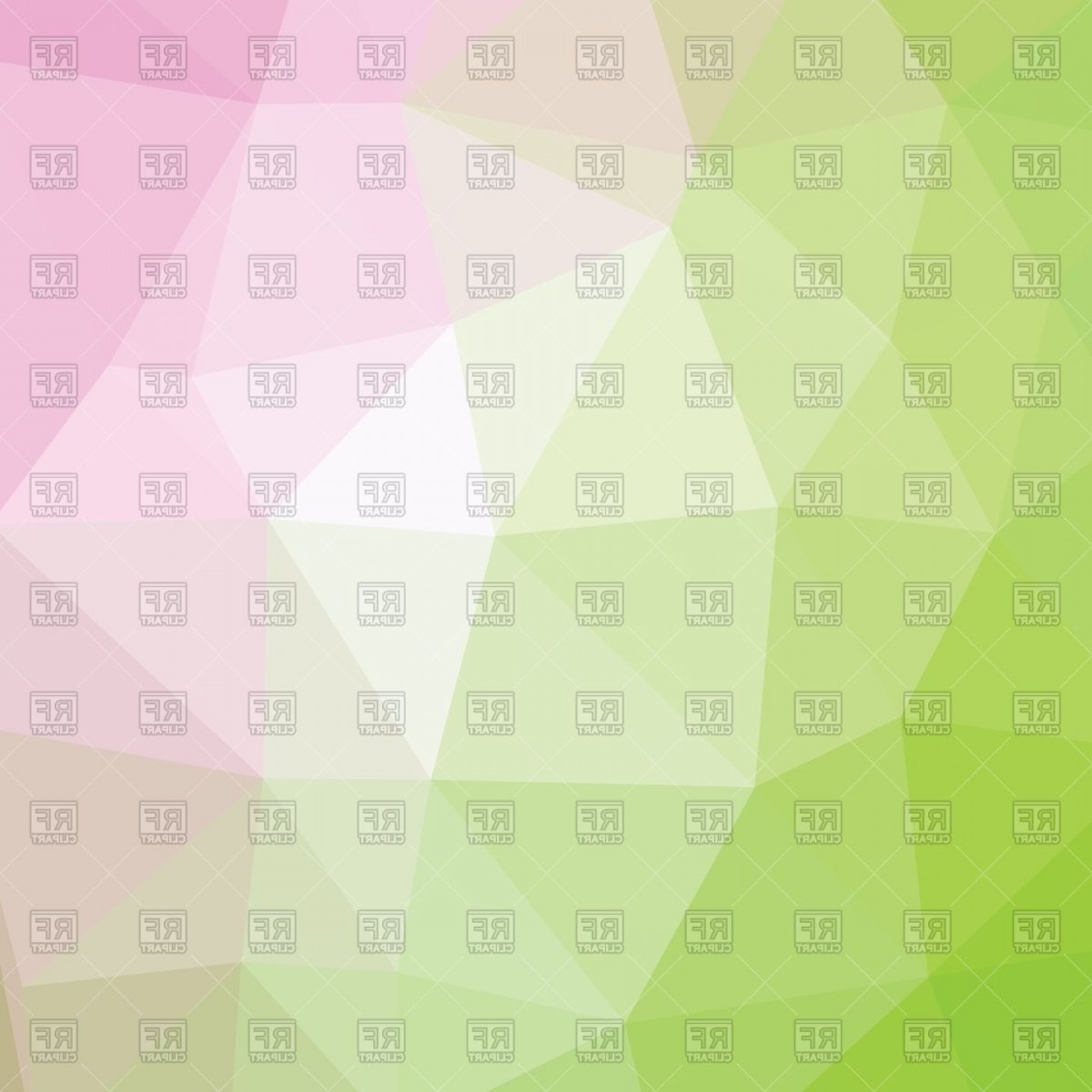 Geometric Vector B2: Geometric Abstract Polygonal Pink And Green Background Vector Clipart