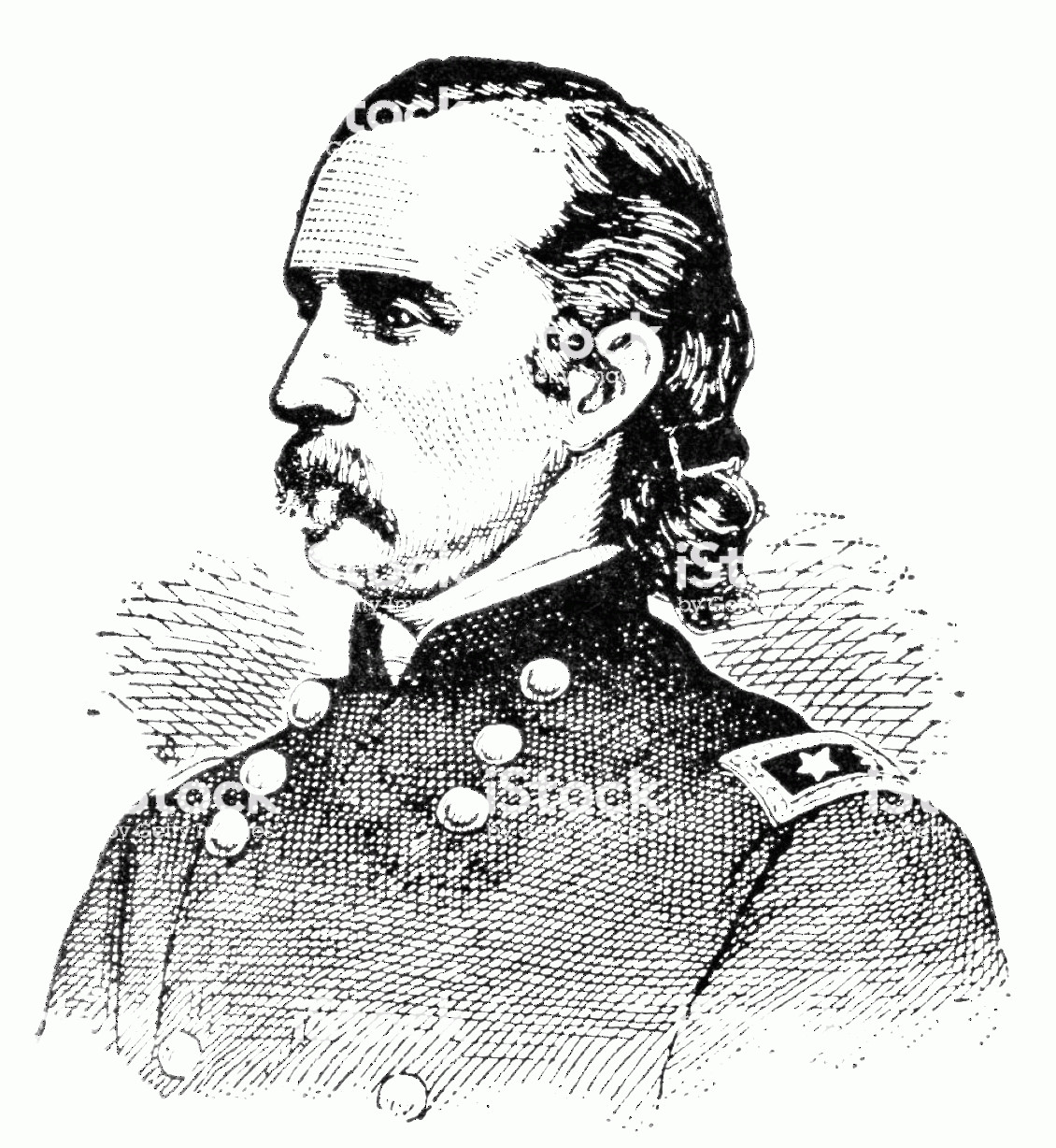 Armstrong Vector: George Armstrong Custer Gravure Gm