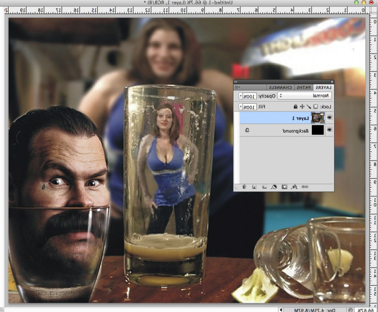 Vector In Photoshop CS5: Give Your Photos Rounded Corners In