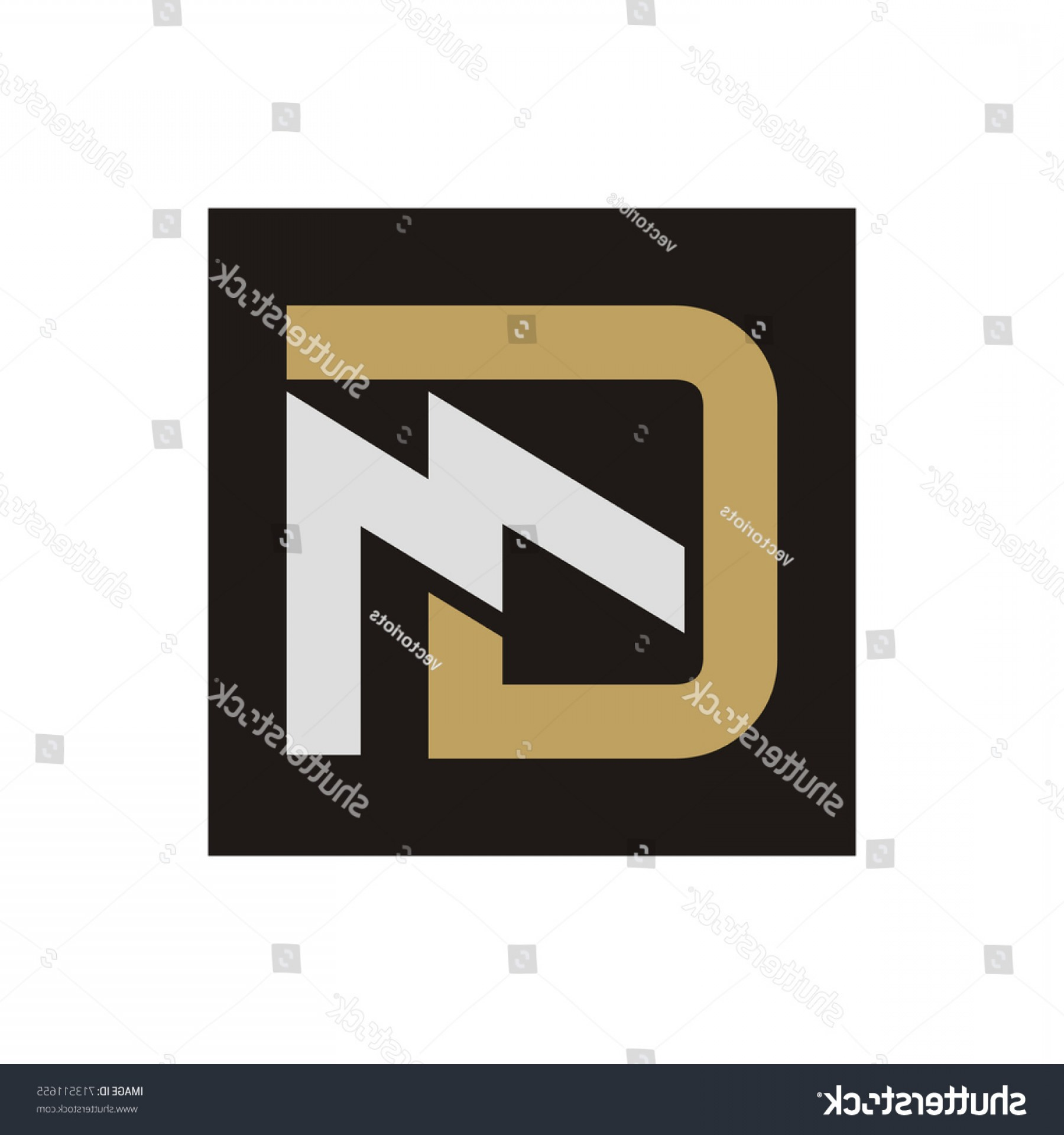 GM Logo Vector: Gm Mg Letter Logo Design Template