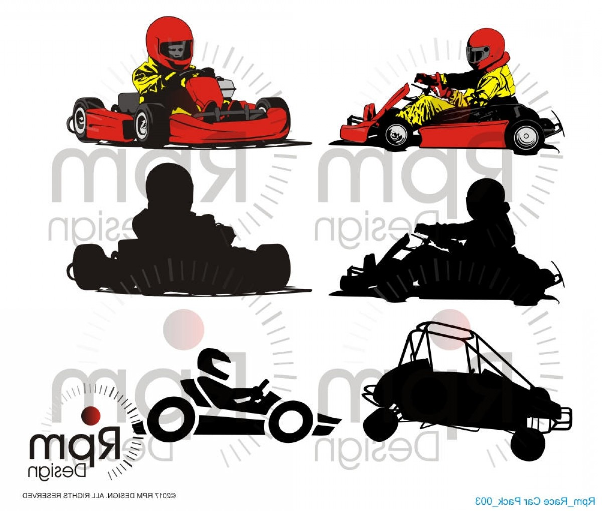 Late Model Race Car Vector Art: Go Kart Svg File Go Kart Svg Race Car