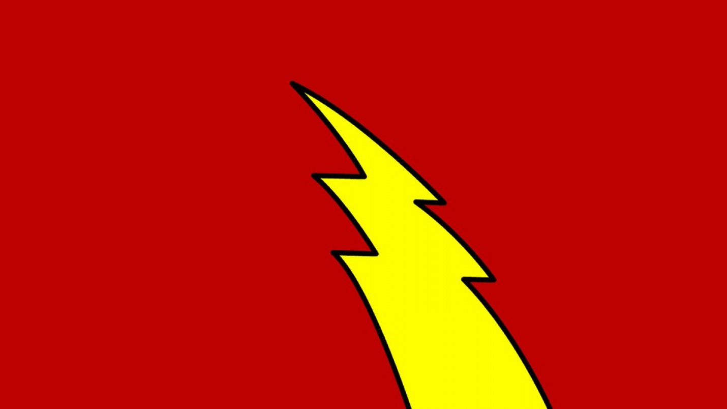 Flash Superhero Logo Vector: Golden Age Flash Symbol Wp