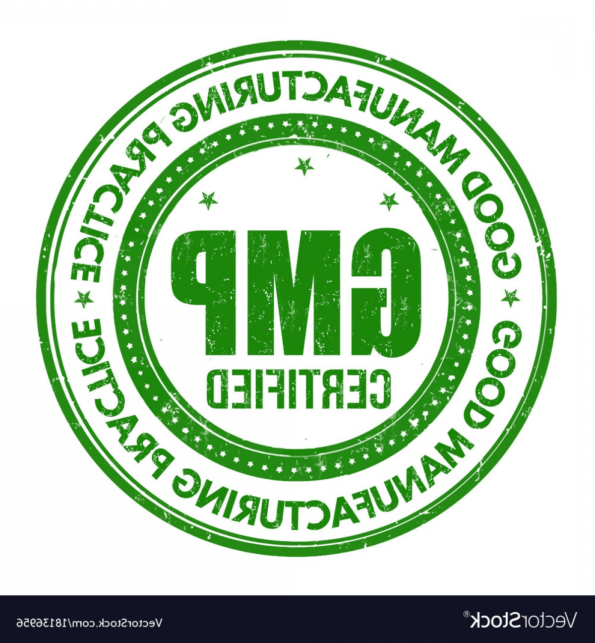 GMP Logo Vector: Good Manufacturing Practice Gmp Sign Or Stamp Vector