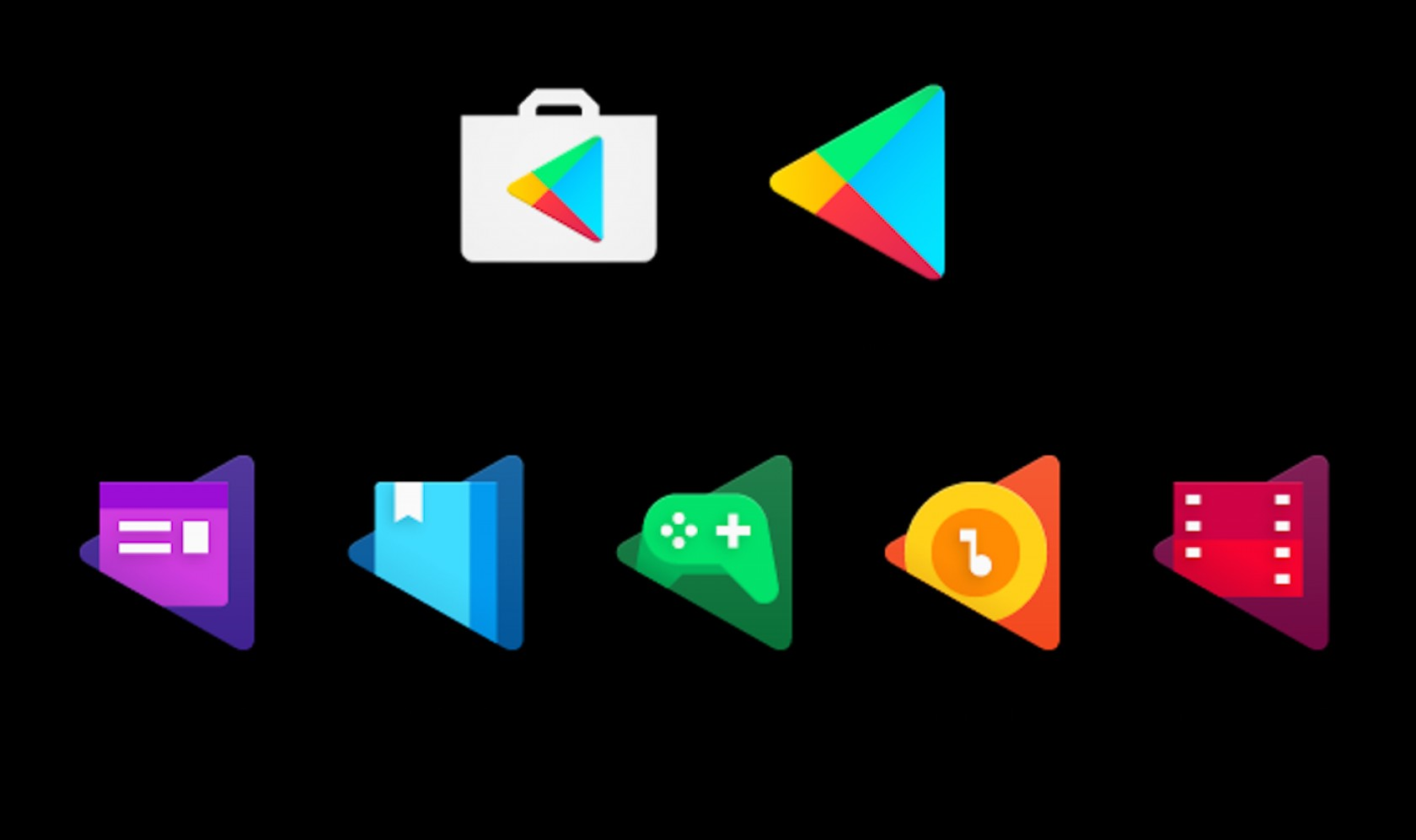 Play Store Icon Vector: Google Makes Tiny Change To Play Store App Logo