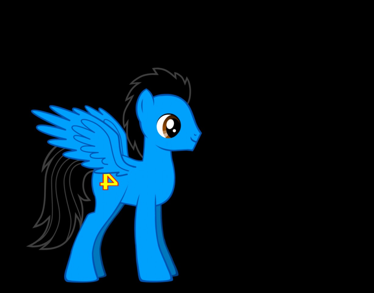 Thomas And Thomas Vector: Gordon The Blue Pegasus Thomas Goes To Equestria