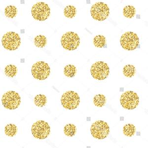 Invite Gold Dots Vector Glittter: Abstract Gold Glitter Background With Polka Dot Vector
