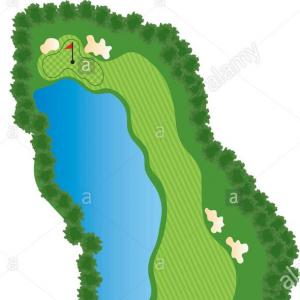 18th Hole Golf Vector: Golf Club Labels Vector