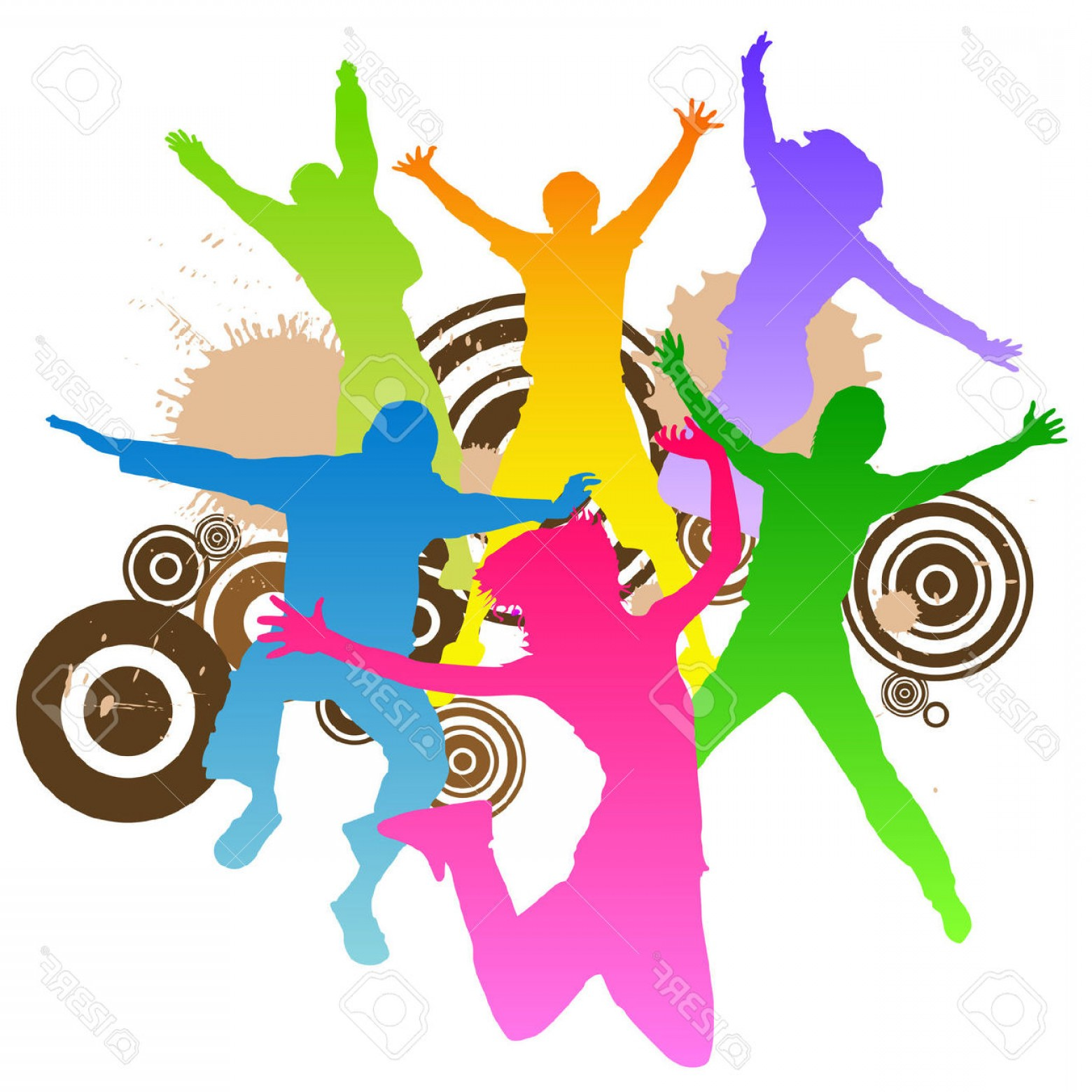 Committee Clipart -Vector: Grade End Of Year Dance Committee
