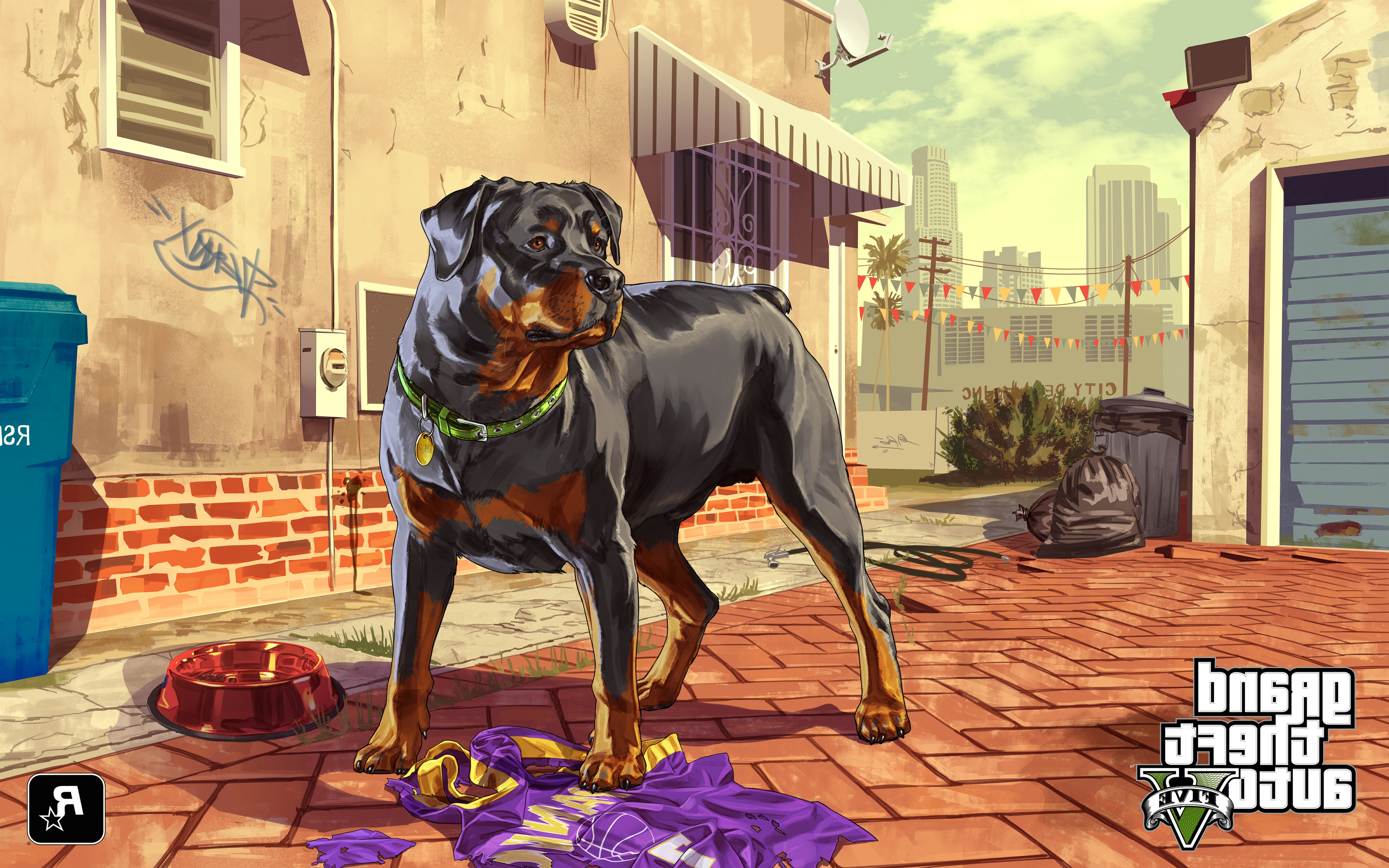 GTA Photo To Vector: Grand Theft Auto Gta Dogs Vector Graphics Games Wallpaper Background