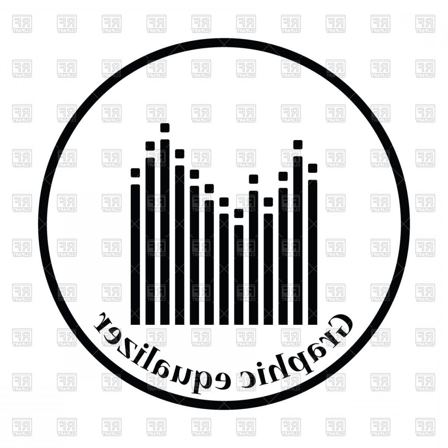 Equalizer Vector Icons: Graphic Equalizer Icon Vector Clipart