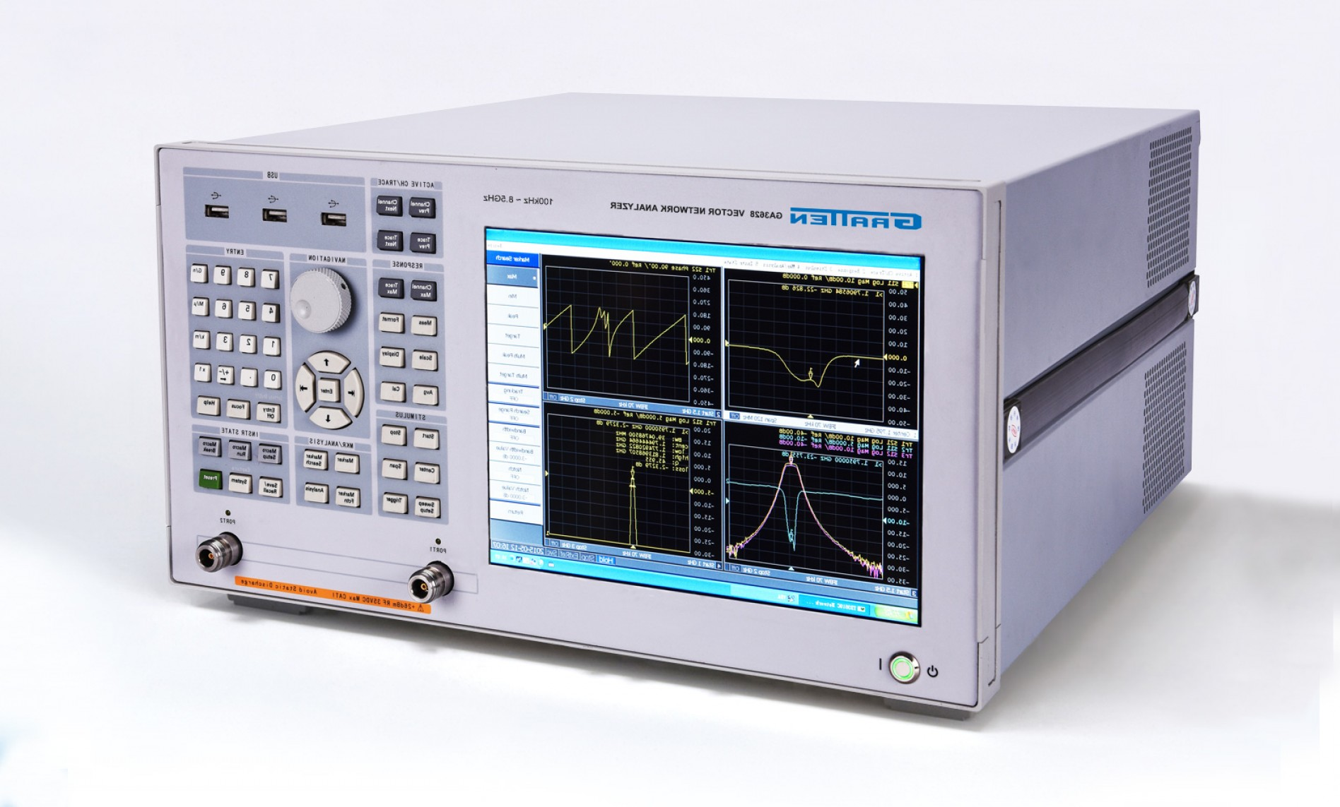 Vector Network Analyzer: Gratten Gax Series Vector Network Analyzers