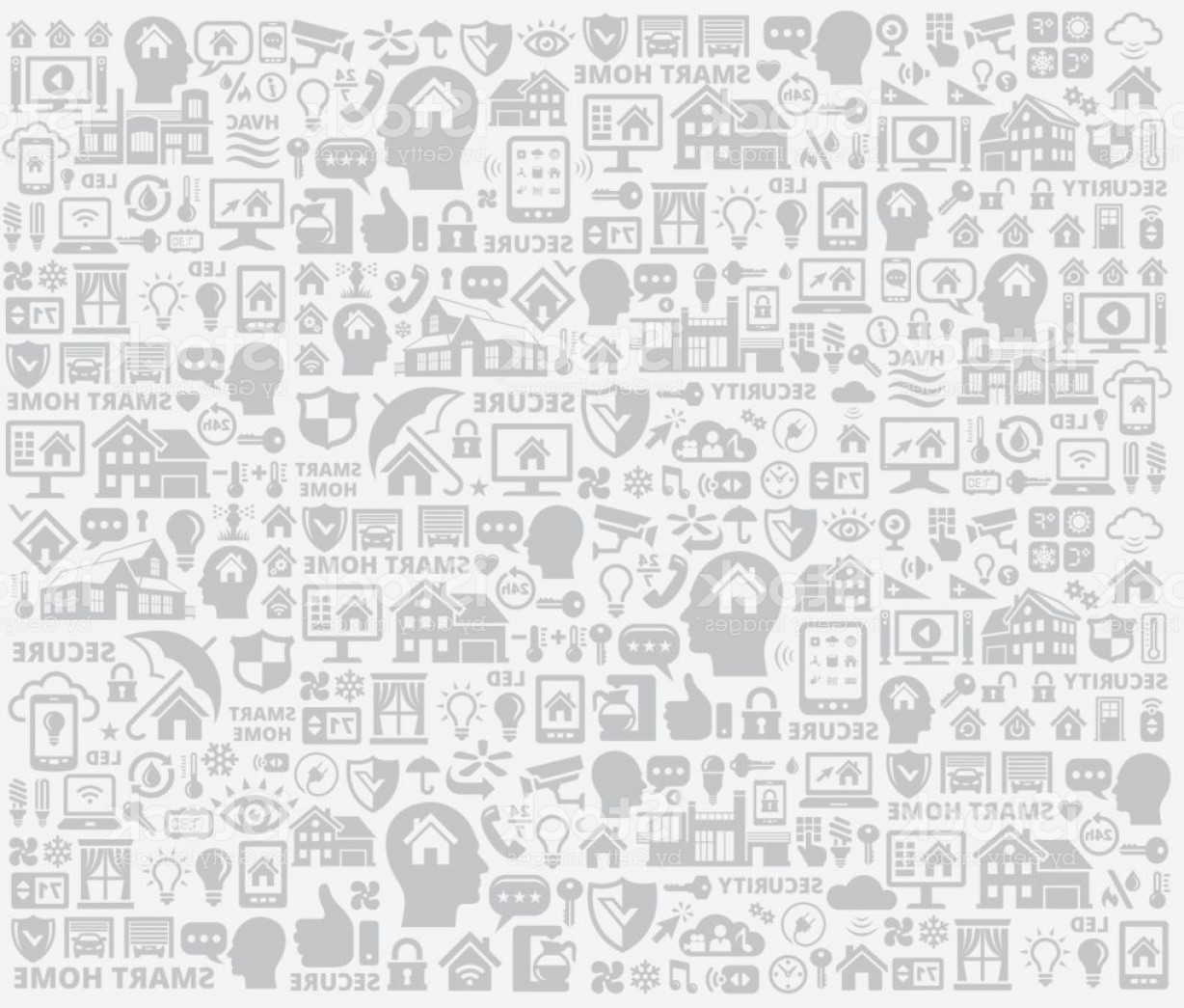 Security Vector Patterns: Gray Home Automation And Security Technology Background Pattern Gm
