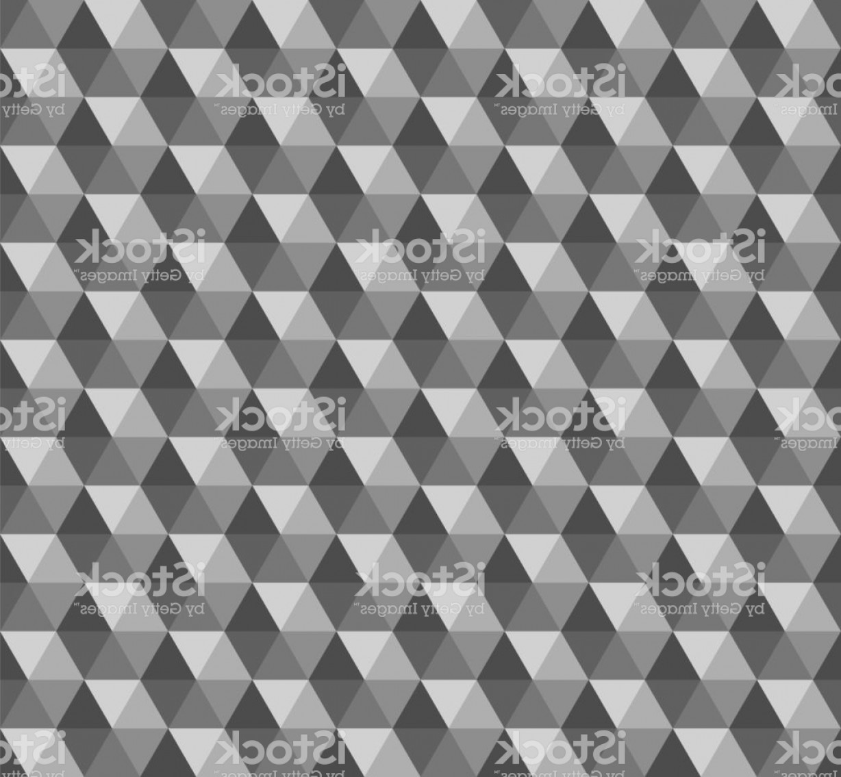 Pyramid Stud Vector: Gray Pyramid Vector Seamless Pattern With Triangles White Geometric Background Gm