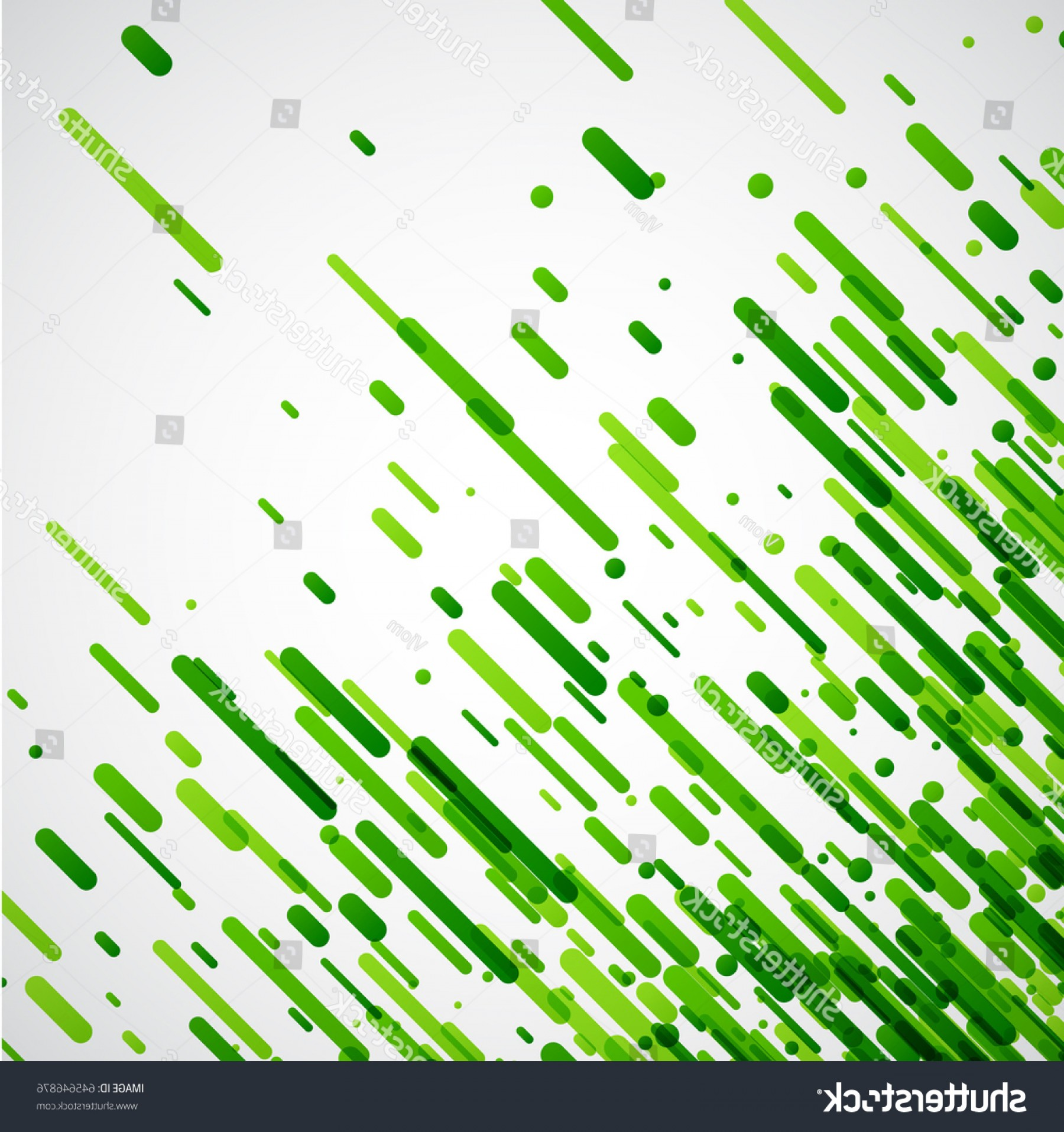 Green And White Vector: Green Abstract Background On White Vector