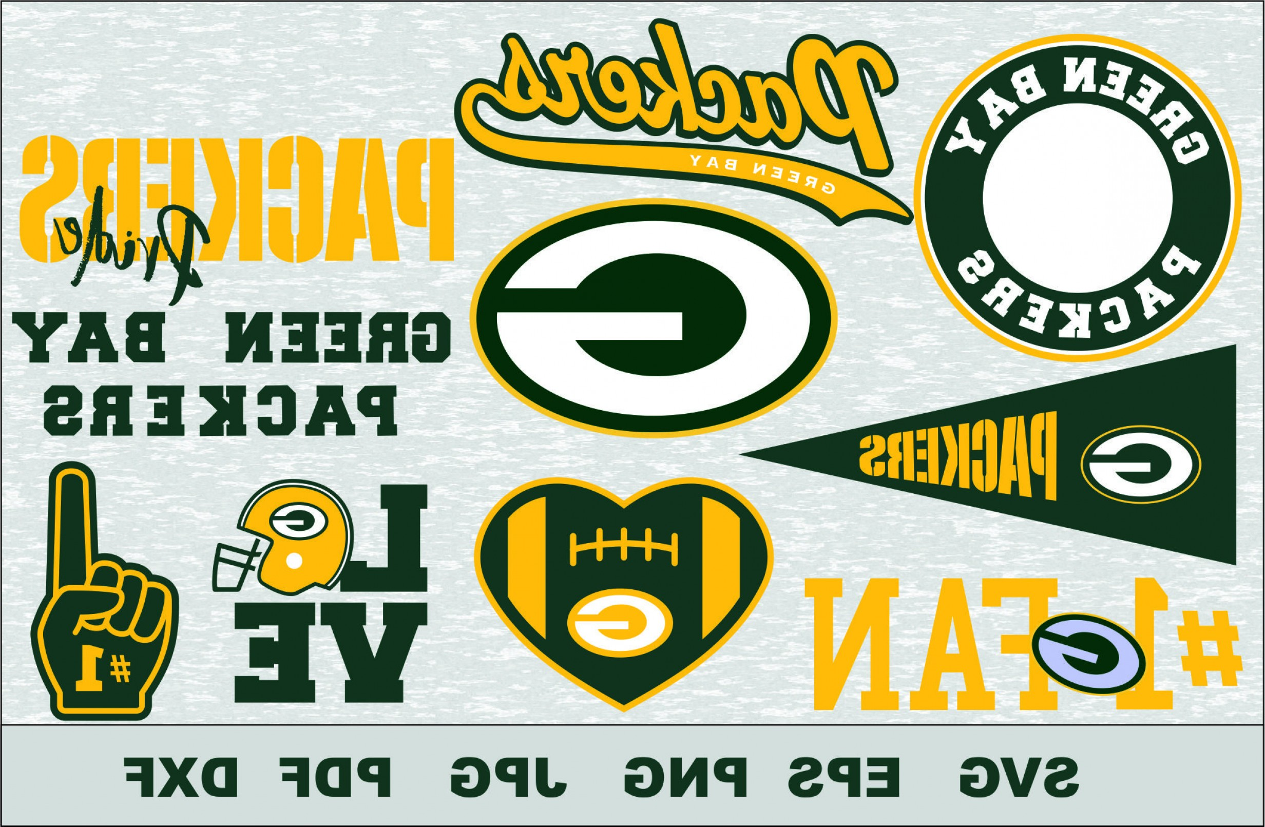 Green Bay Vector: Green Bay Packers Svg Dfx Eps Vector Cut