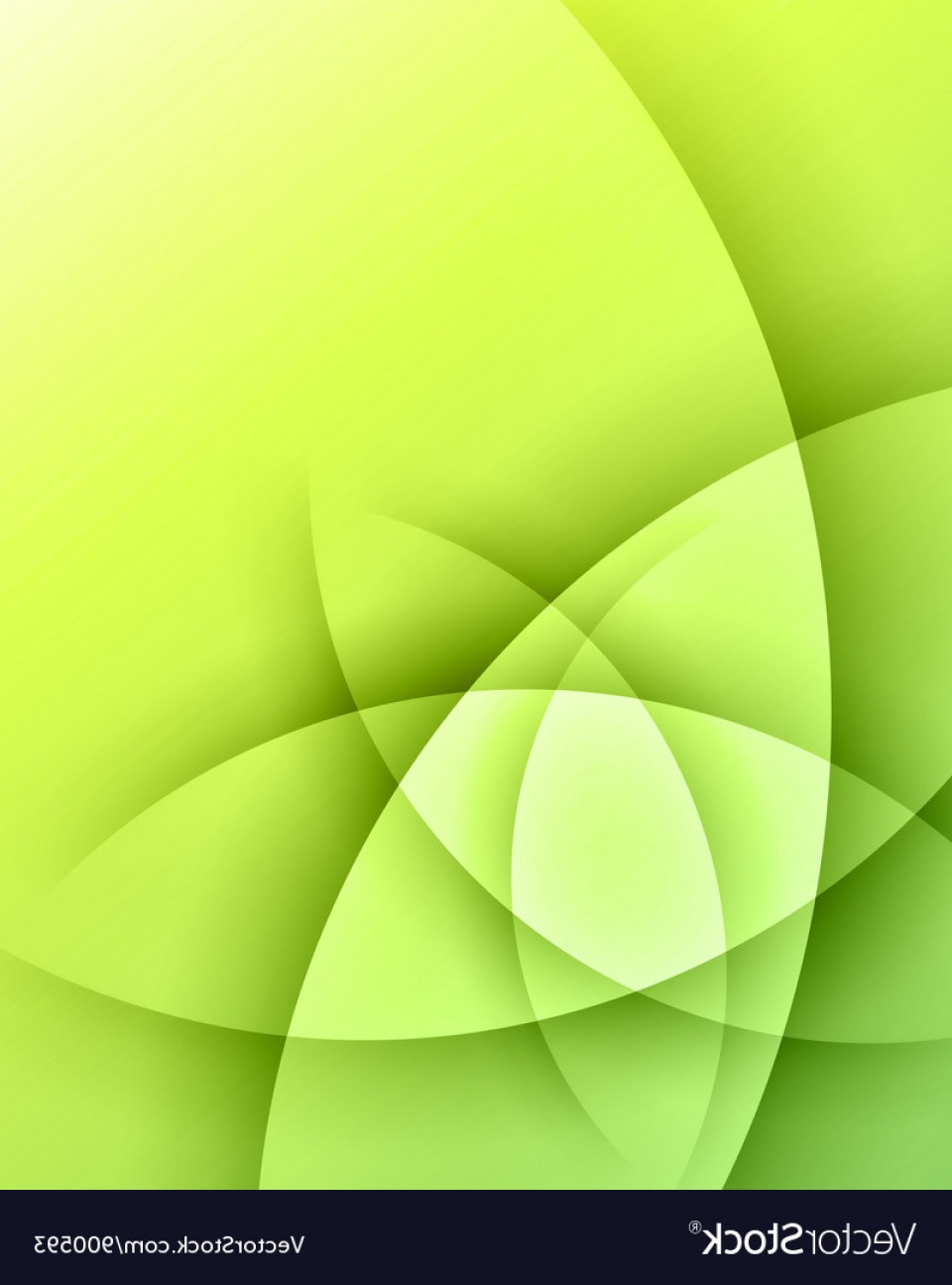 Vector Smooth Green: Green Smooth Light Lines Background Vector