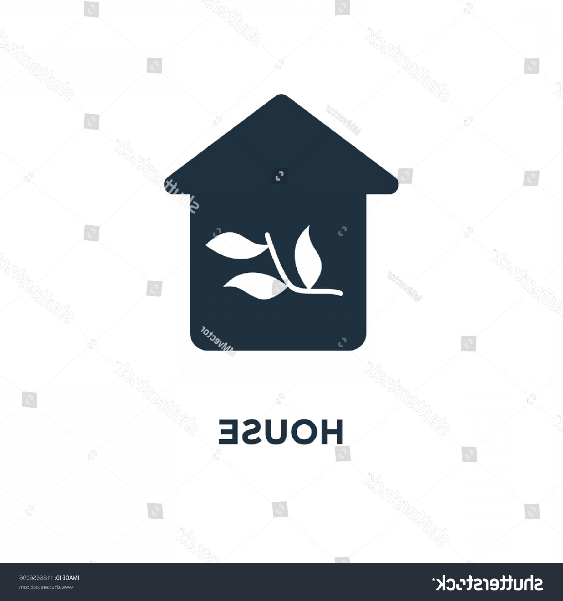 Black And White Vector Greenhouse: Greenhouse Icon Black Filled Vector Illustration