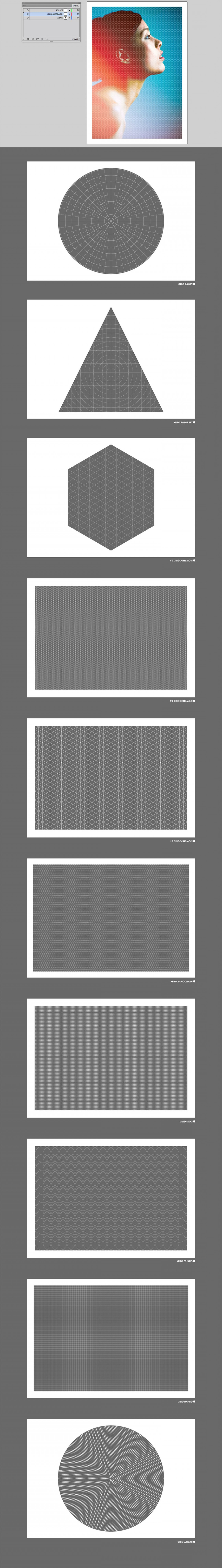 Mask Overlay Vector: Grid Overlay Masks Vector Bitmap Off Intro Special