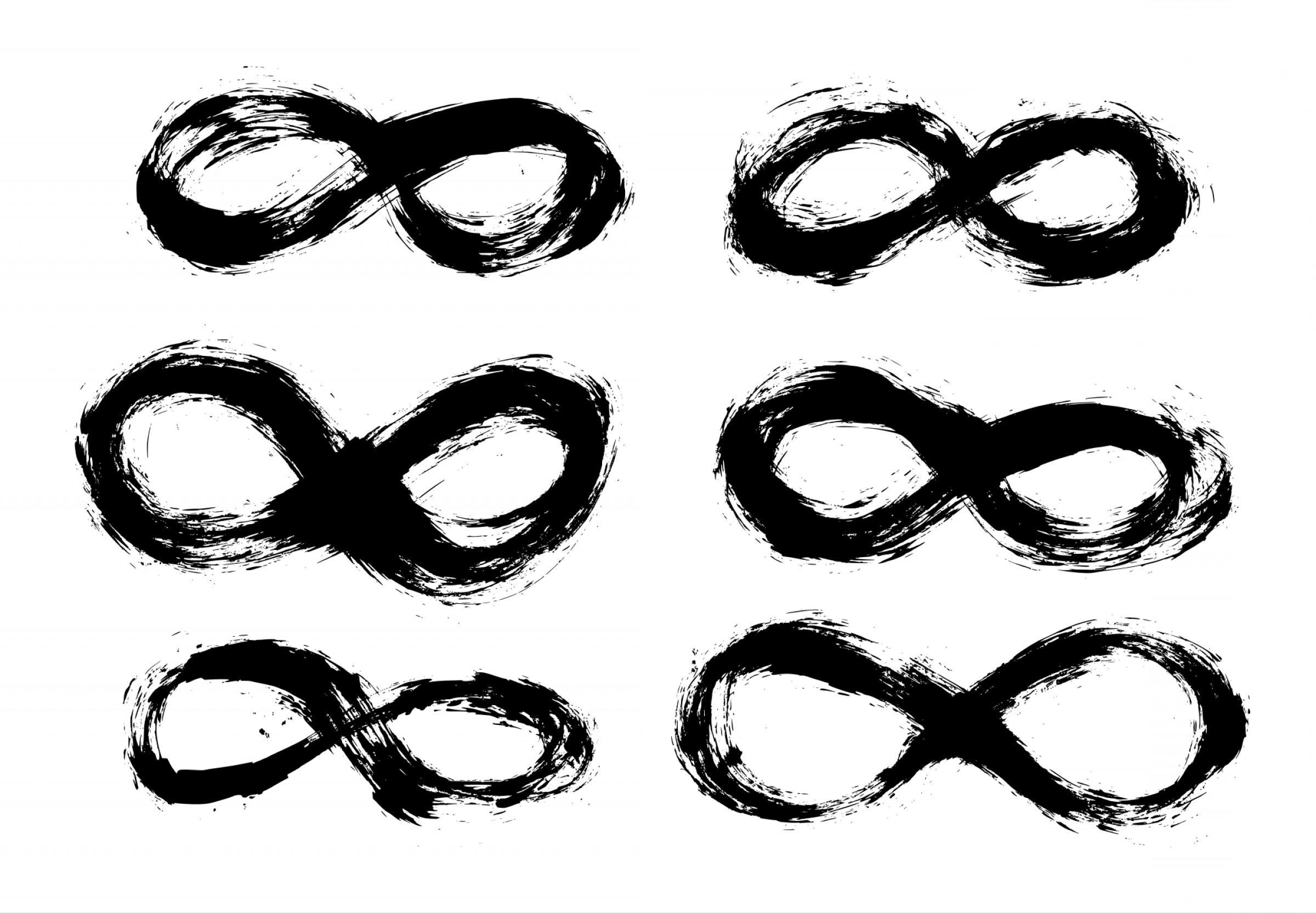 Infinity Grunge Heart Vector: Grunge Infinity Symbol Png Transparent