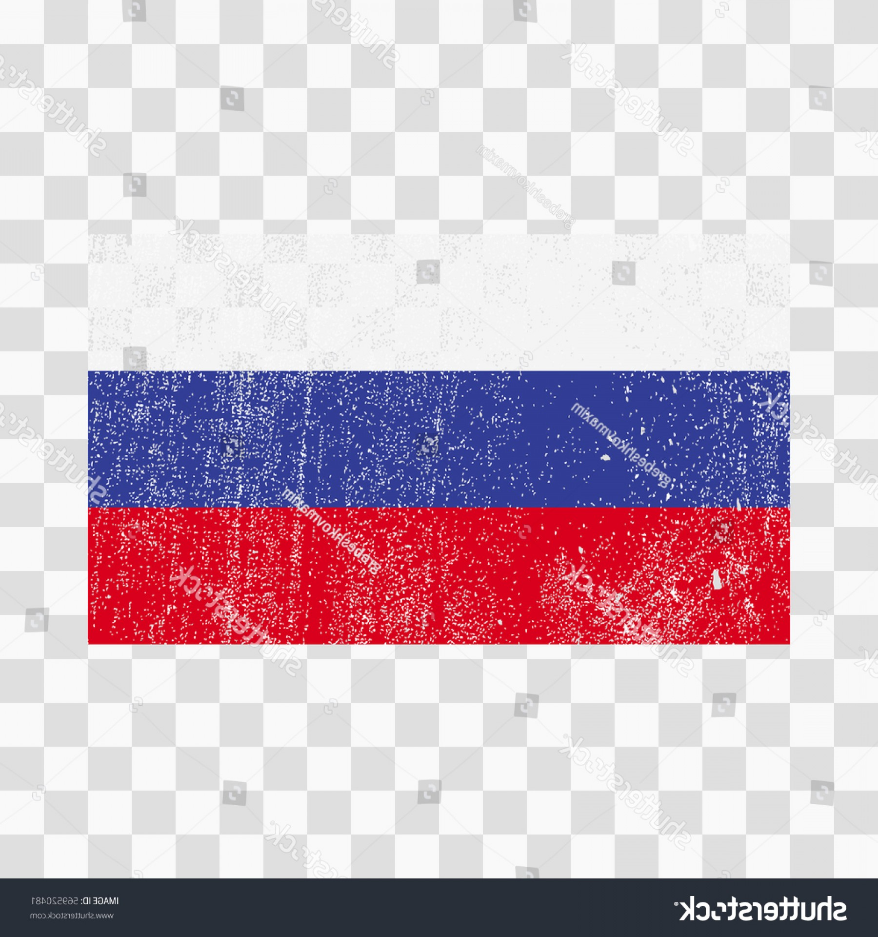 Distressed Flag Vector Digital: Grunge Russia Flag Russian Distress Texturevector