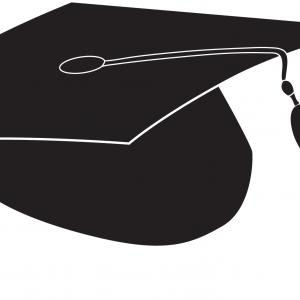 Tassel Vector: Graduation Cap Graduate University Icon Drawingcsp