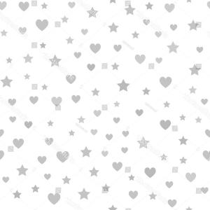 Vectors Heart And Star: Abstract Confetti Hearts And Stars Seamless Pattern Gm
