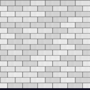 White Brick Wall Vector: Gray White Brick Wall Seamless Pattern Background Vector