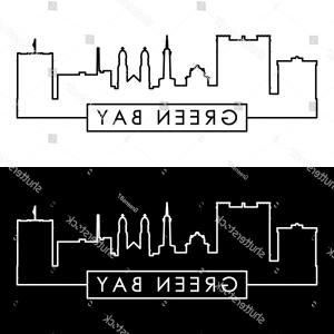 Green Bay Vector: Stock Illustration Grunge Rubber Stamp Or Label