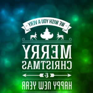 Merry Christmas Vector Graphic: Creative Typography Merry Christmas Vector Text