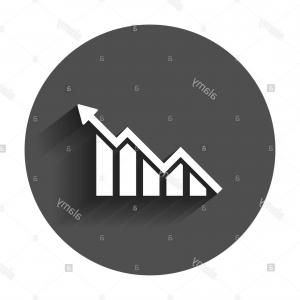 Bar Graph Icon Vector: Bar Graph Icon Vector Isolated White Background Si Transparent Sign Line Linear Design Elements Outline Style Image