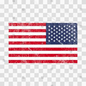 Distressed Flag Vector Digital: Grunge Usa Flag American Flagvector