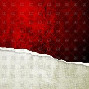 Broken Wall Vector: Grunge Wall With Broken Edge Vector Clipart