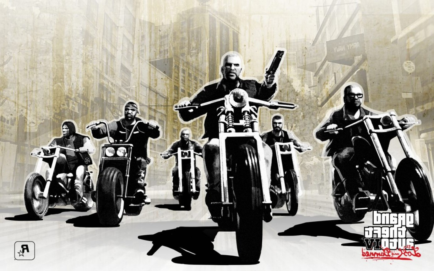 GTA Photo To Vector: Gta Online Biker Dlc Leak