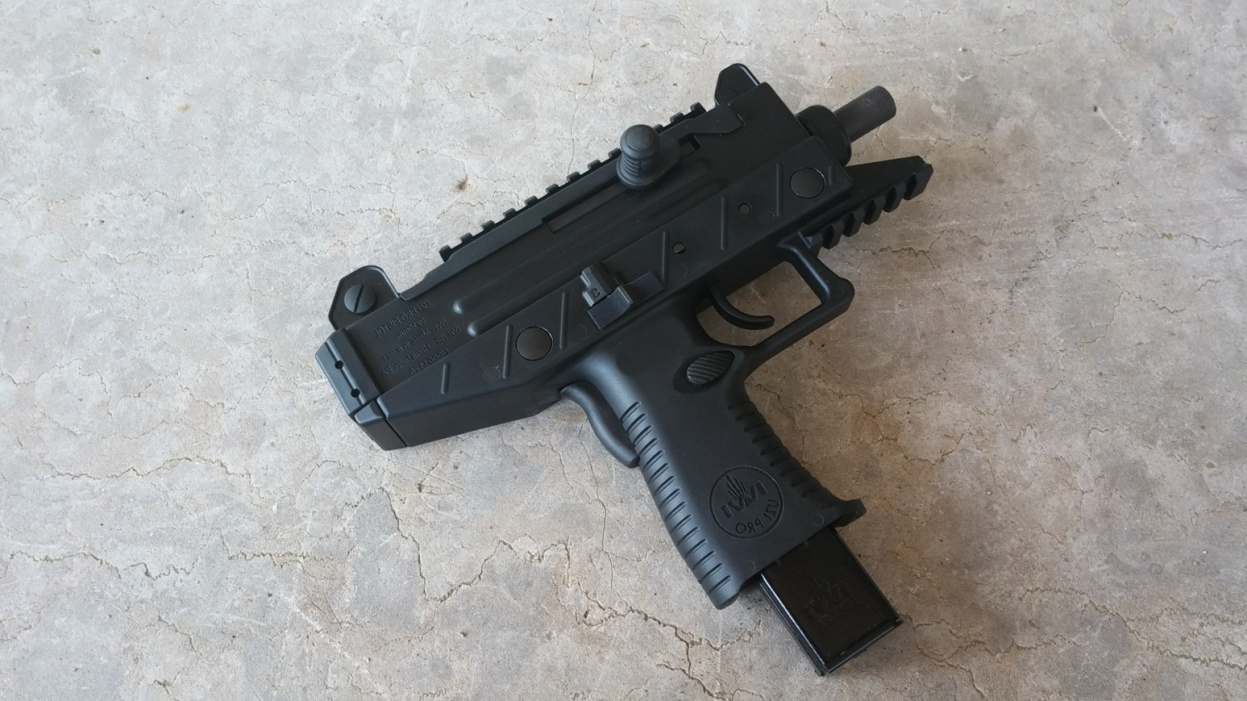 Vector Uzi Review: Gun Review The Iwi Uzi Pro