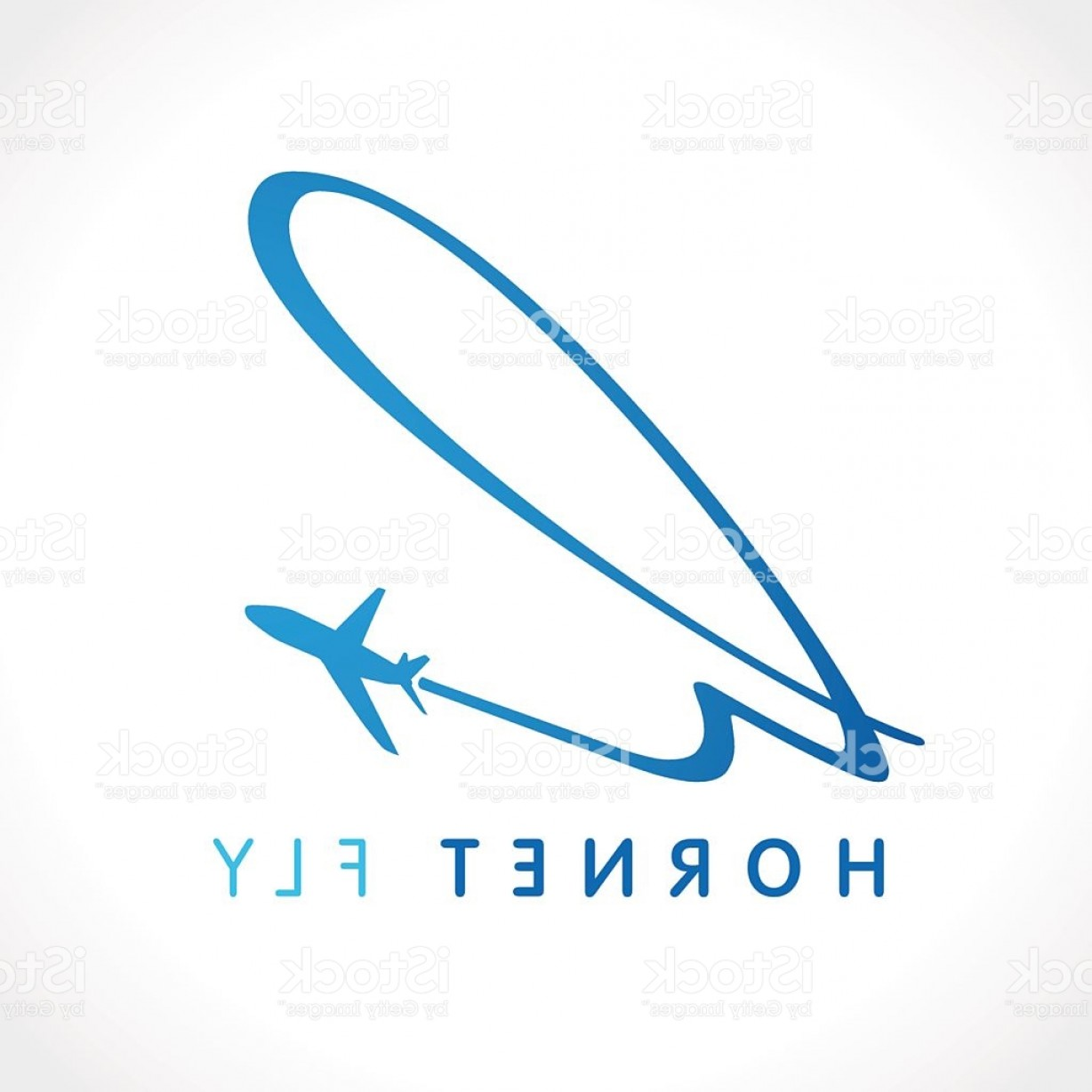 Airplane Travel Vectors: H Hornet Travel Company Logo Gm