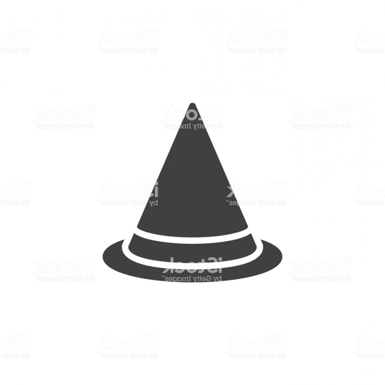 Halloween Witch Hat Vector: Halloween Witch Hat Vector Icon Gm