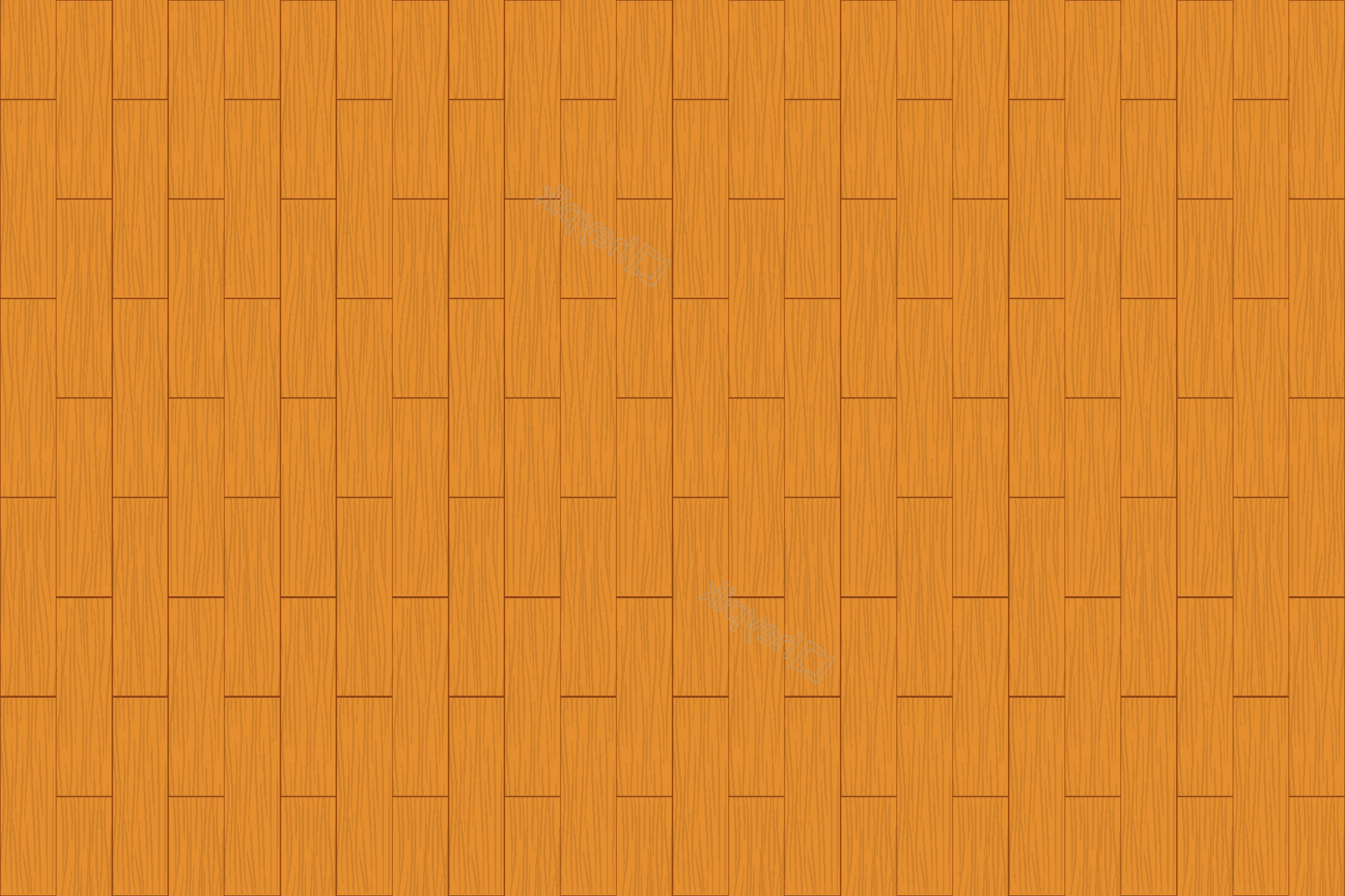 Brick Vector Ai File: Hand Painted Yellow Wall Brick Background