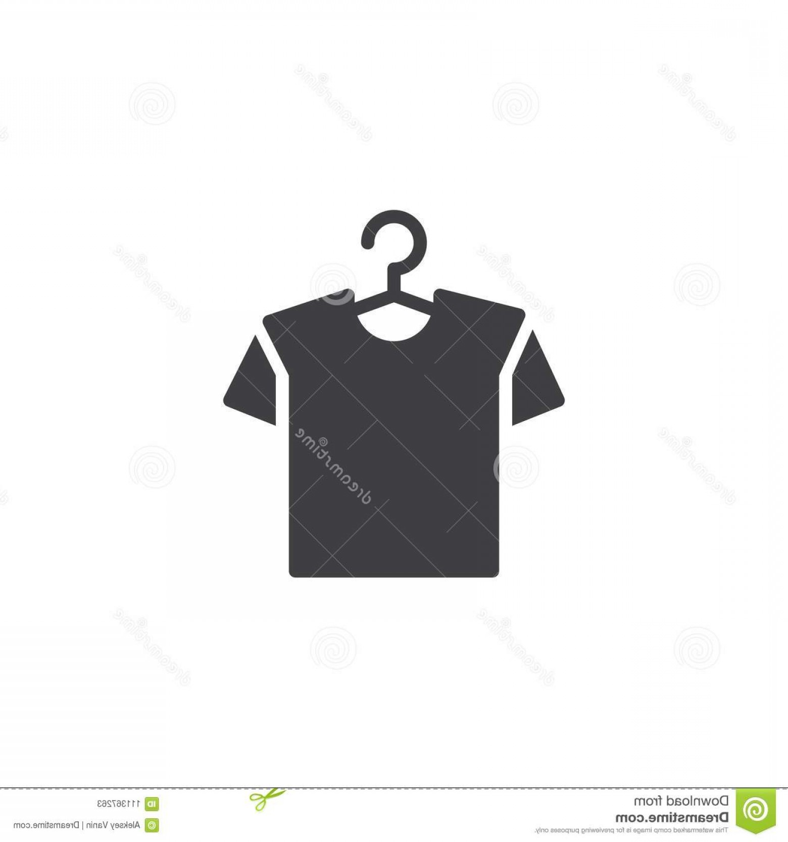 Shirt Hanger Icon Vector: Hanger Shirt Vector Icon Filled Flat Sign Mobile Concept Web Design T Shirt Hanger Simple Solid Icon Symbol Logo Image