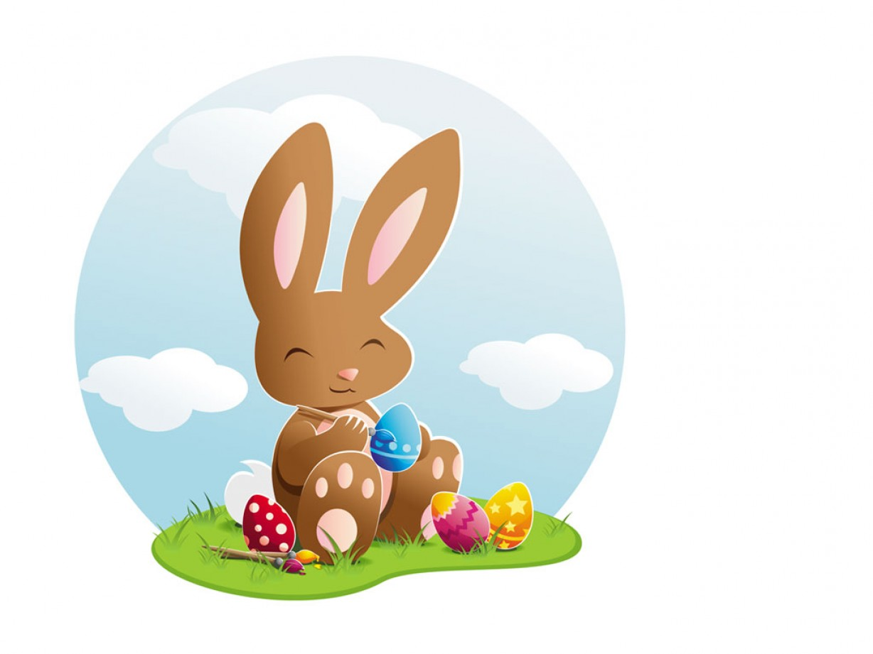 Easter Vector Art No Background: Happy Easter Bunny Pictures Eggs Images Wishes Collection