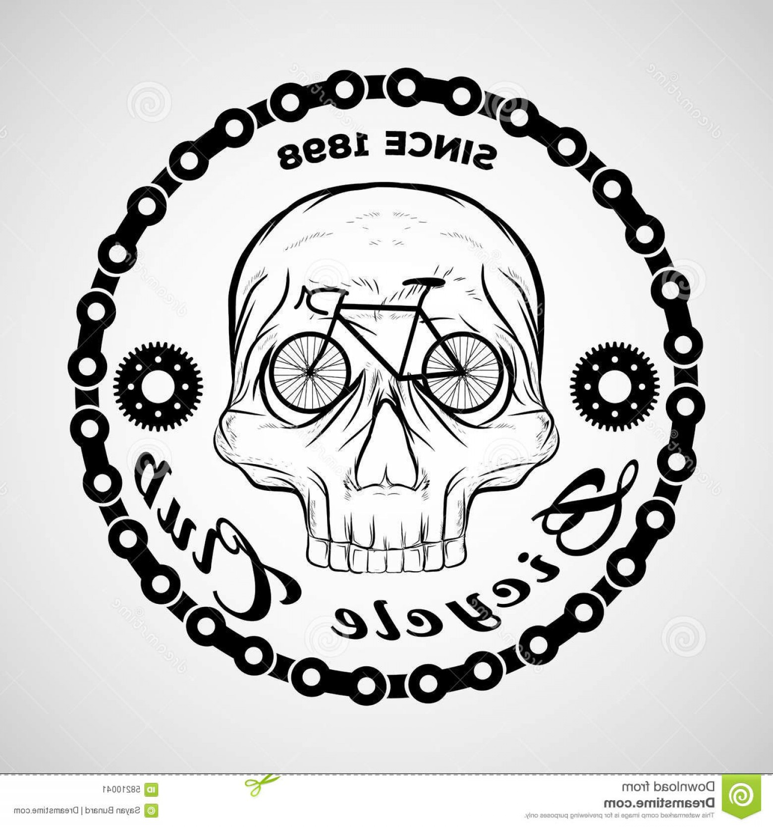 Harley-Davidson Skull Logo Vector: Harley Davidson Skull Best Of Skull Logo Bicycle Club Logo Stock Vector Image