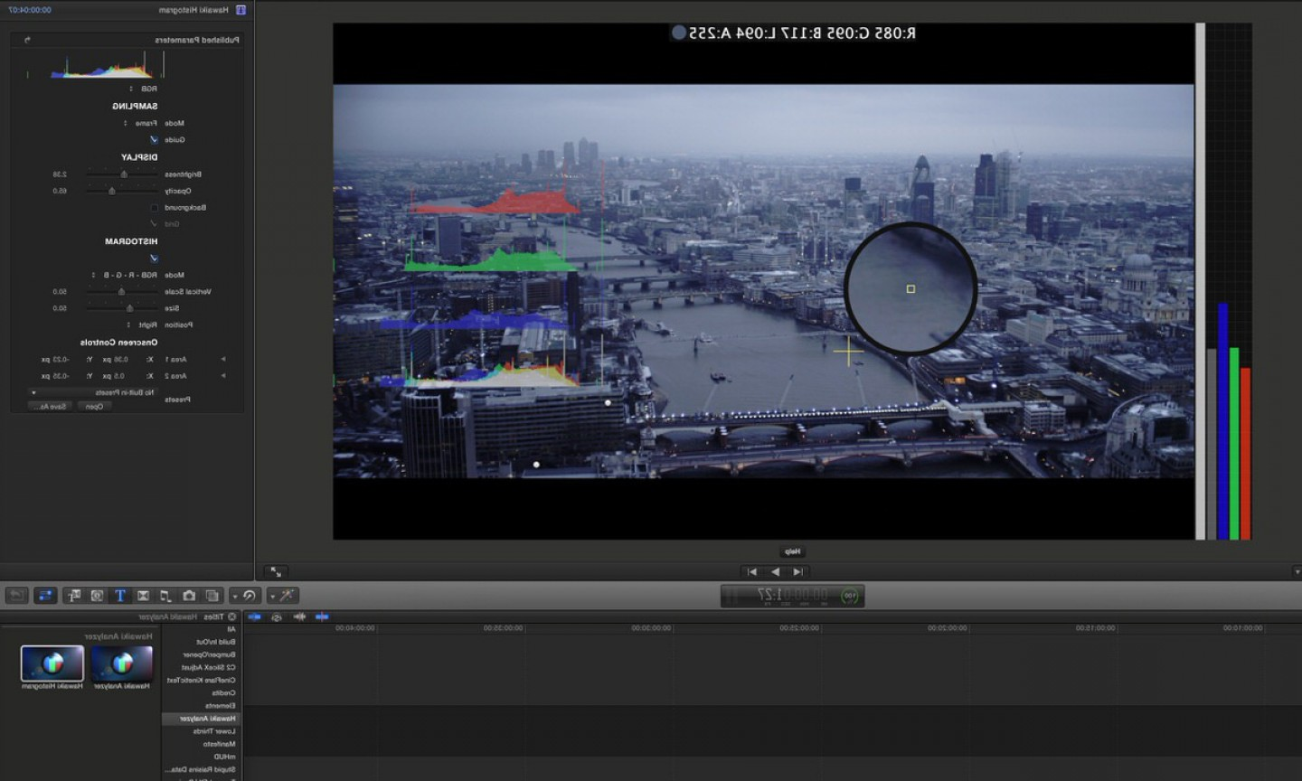 Vectorscope Analyzer: Hawaiki Analysis Makes Colour Correction In Fcp X And Premiere Pro A Breeze