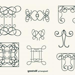 Swirl Vector Free Download: Hand Drawn Curly Swirl Vector Set
