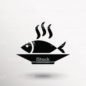 Tuna Vector: Hand Drawn Tuna Canned Fish Vector
