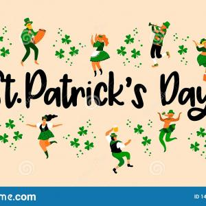 Funny St. Patrick's Day Vector: Happy St Patricks Day Background Vector
